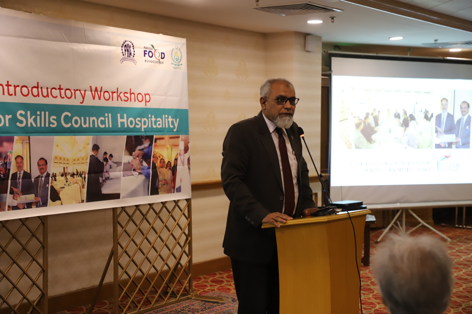 Workshop of Sector Skill Council Hospitality held on 17-05-2018 at Karachi Marriott Hotel