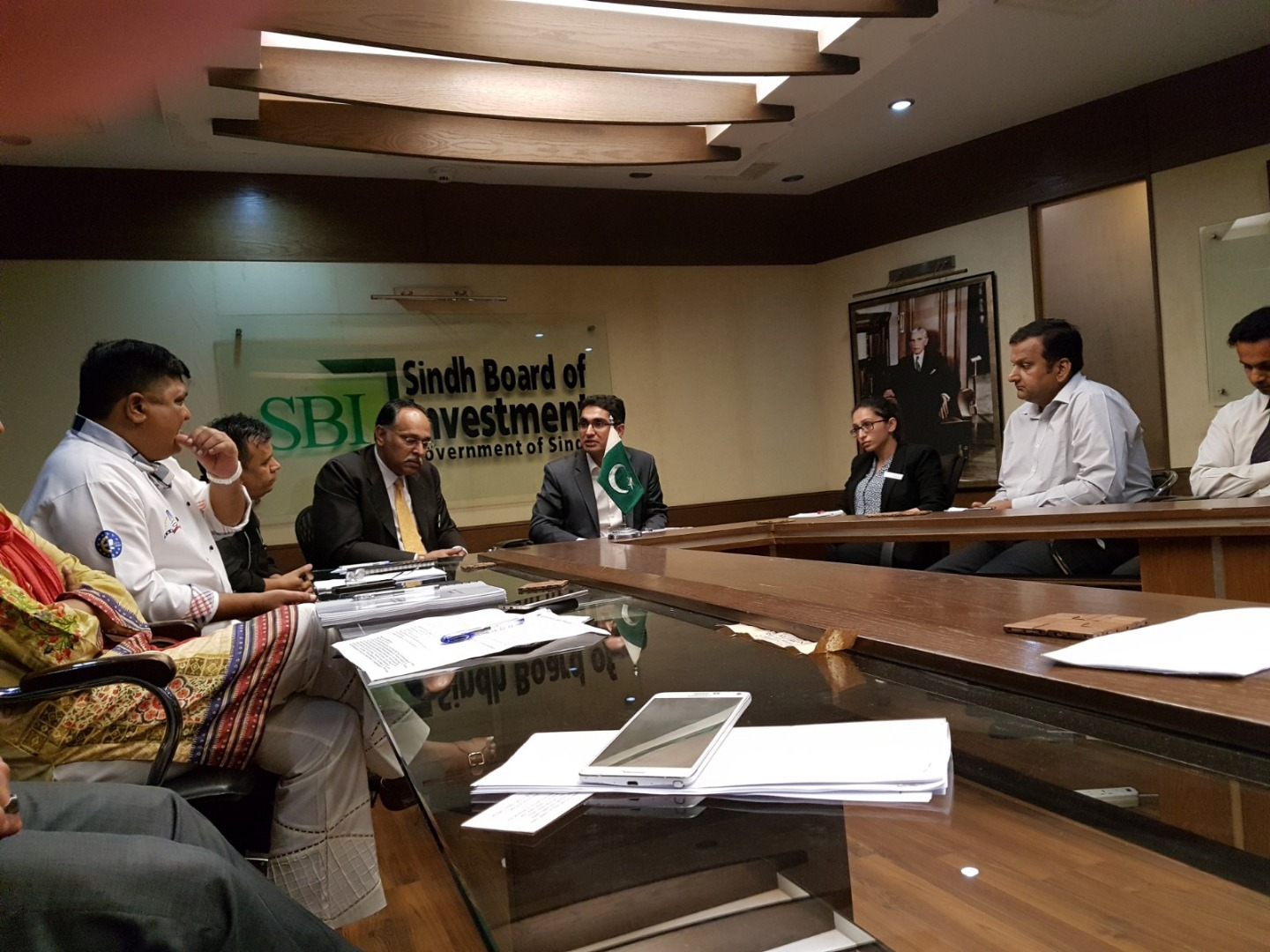 PHA Members meeting with Director Operations - Sindh Food Authority
