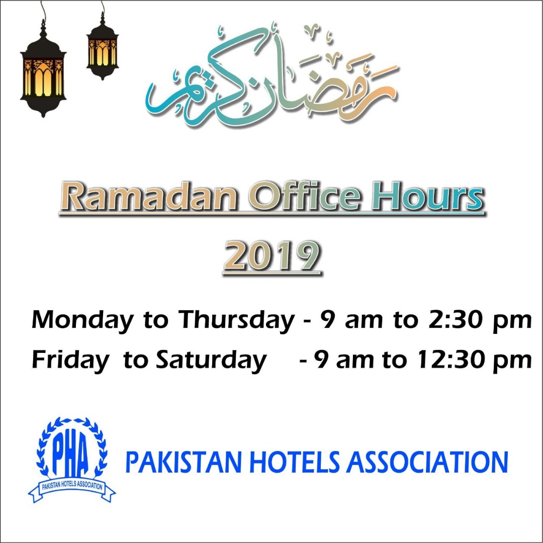 PHA Secretariat Office Ramazan Timings